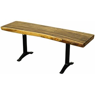 New Pacific Direct Trembesi Wood Bench