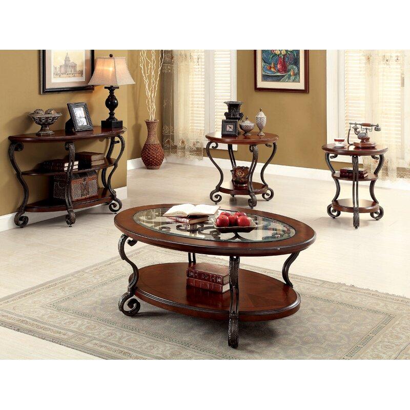 Voorhees 4 Piece Coffee Table Set