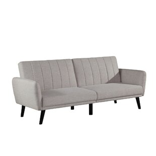 Price comparison Princeville Futon Sofa by Brayden Studio Reviews (2019) & Buyer's Guide