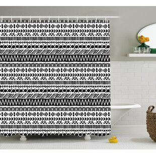 Bangs Aztec Mystic Old Figure Single Shower Curtain