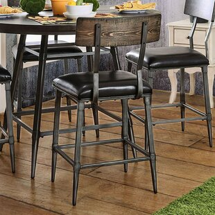 Caressee Industrial Dining Chair (Set of 2) 17 Stories