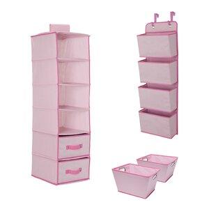 Complete Nursery 3 Piece 6-Compartment Hanging Organizer Set by Delta by Delta Children
