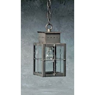 Compare Wildes 1-Light Outdoor Hanging Lantern By Breakwater Bay
