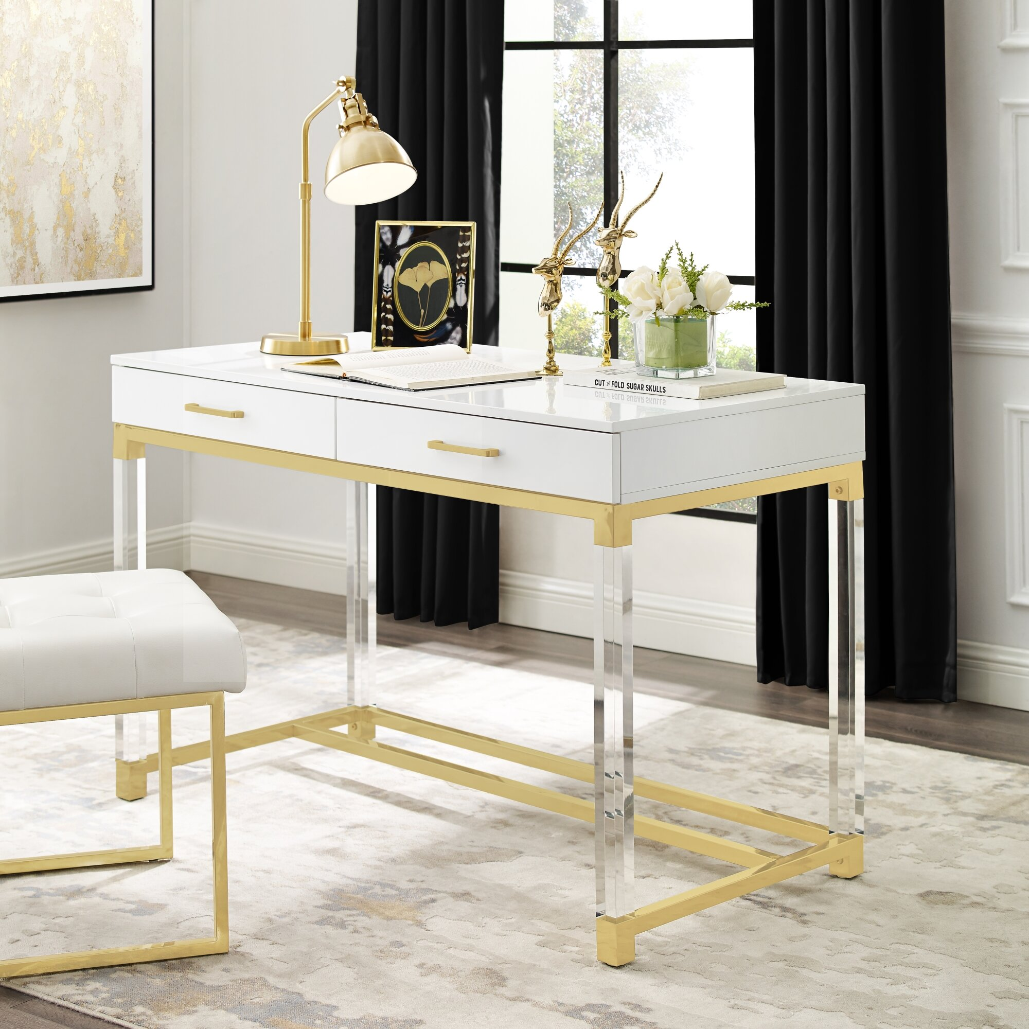 Incredible Leeann Writing Desk Andrewgaddart Wooden Chair Designs For Living Room Andrewgaddartcom