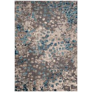 crosier grey u0026 light blue area rug