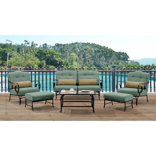 Cowell 6 Piece Sofa Seating Group with Cushions