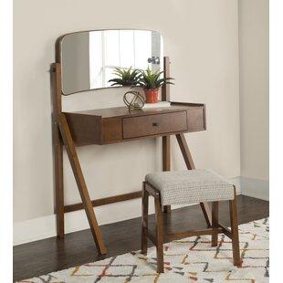 George Oliver Melanie Vanity Set with Mirror