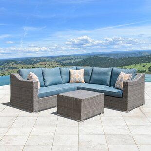 Boyce 6 Piece Sectional Seating Group with Cushions