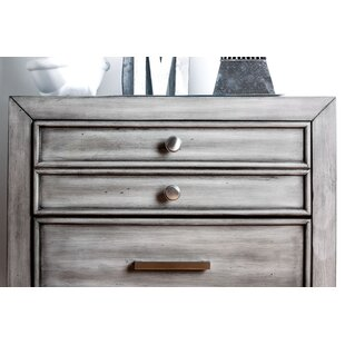 Medau 3 Drawer Nightstand