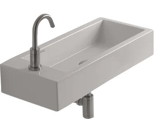 WS Bath Collections Whitestone Hox Ceramic 28