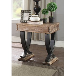 Lolotoe End Table with Storage by Millwood Pines