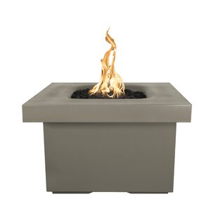 Ramona Concrete Fire Pit Table