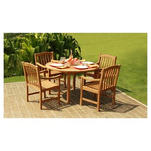 Teak Patio Dining Sets You Ll Love Wayfair