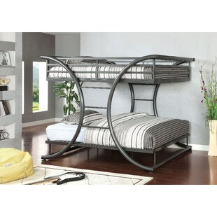Knaack Full over Full Bunk Bed by Zoomie Kids