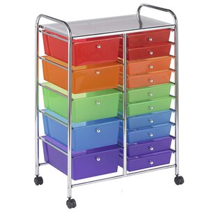 Big Save Mobile 15 Drawer Storage Chest By Offex