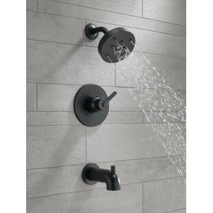 Trinsic® Thermostatic Tub and Shower Faucet with Trim and H2okinetic Technology By Delta