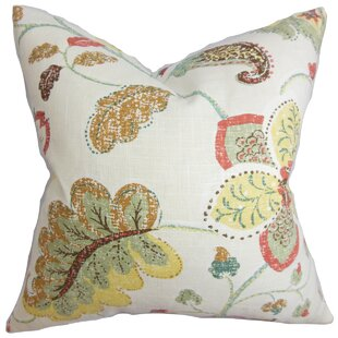 Jora Floral Throw Pillow