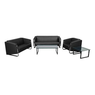 Orlie 3 Piece Living Room Set by Orren Ellis