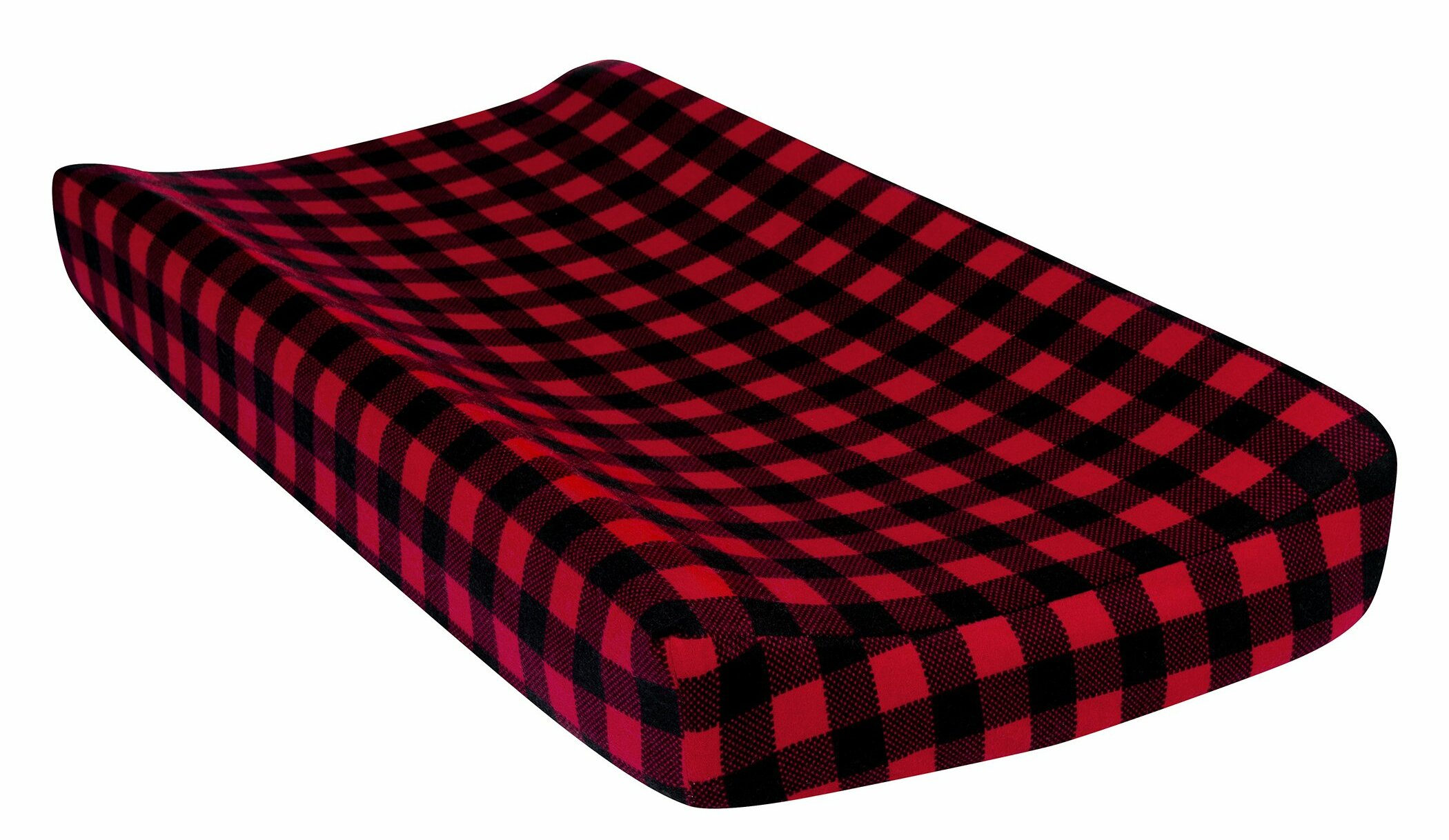 Harriet Bee Aria Buffalo Check Deluxe Flannel Changing Pad Cover Wayfair