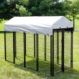 Wire Boxed Kennel Kit byKennels Direct