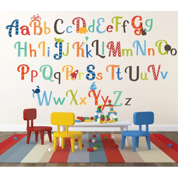 Animal Nursery Wall Decals Kidsline Caramel Kisses Alphabet