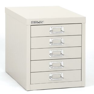 5-Drawer Vertical File by Bisley