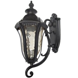 Straford 1-Light Outdoor Sconce By Yosemite Home Decor Outdoor Lighting