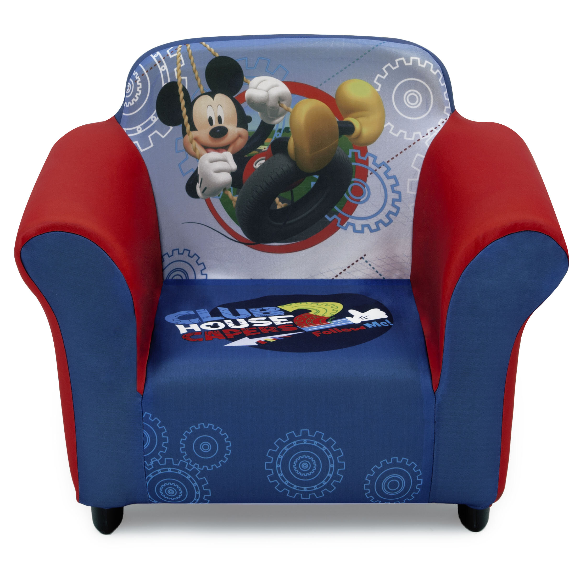 Delta Children Disney Mickey Mouse Kids Club Chair U0026 Reviews | Wayfair