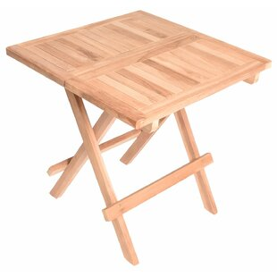 Cormac Folding Teak Bistro Table