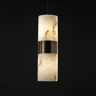 Keyon 2-Light Cylinder Pendant by Brayden Studio