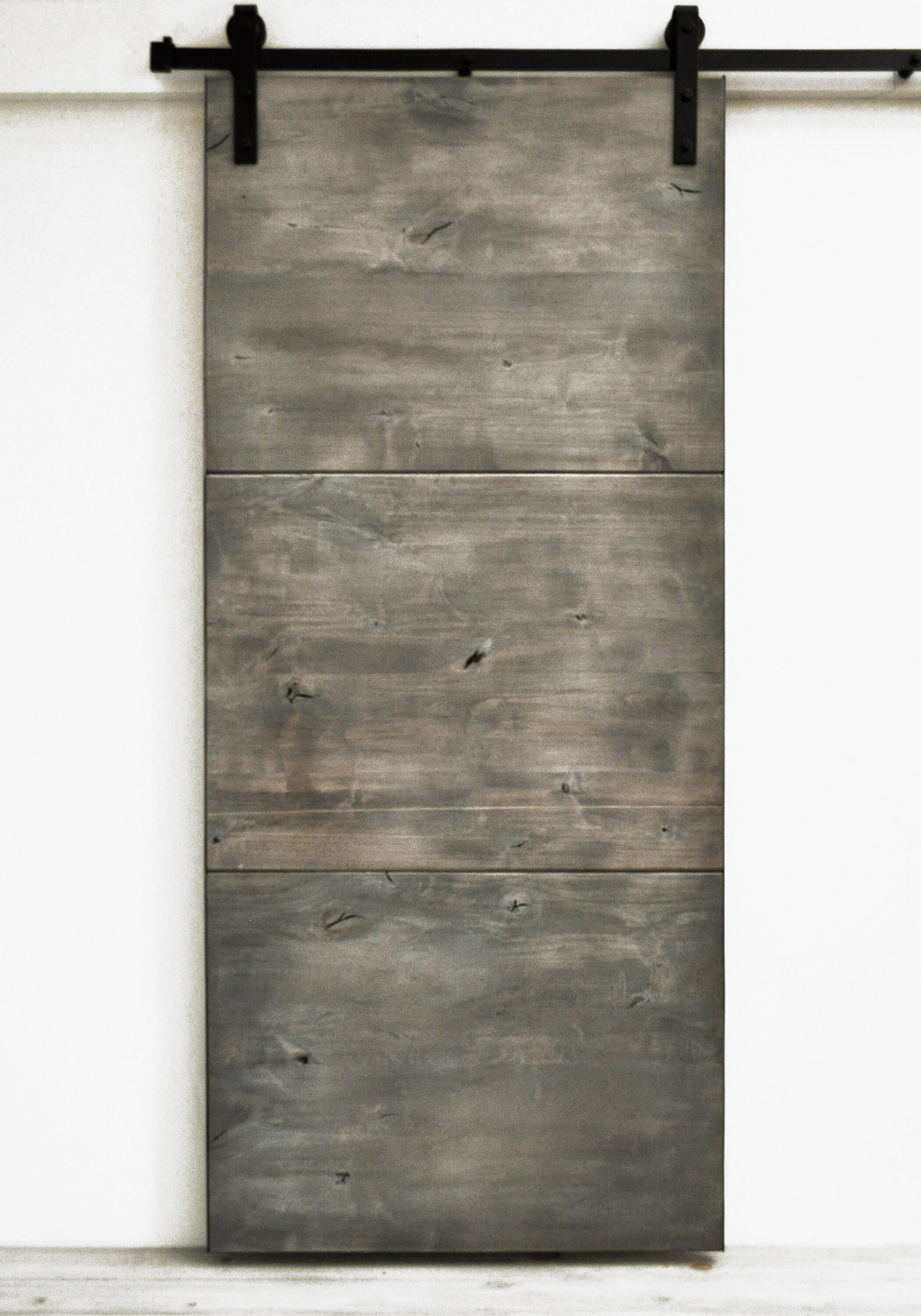 Dogberry Collections Modern Slab Wood 1 Panel Stained