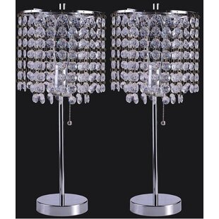 Georgina Crystal Inspired 19 Table Lamp (Set of 2)