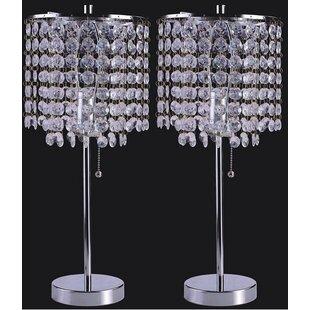 Georgina Crystal Inspired 19 Table Lamp (Set of 2)