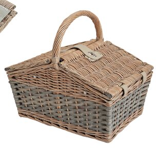 Picnic Basket Set (Set Of 15) By August Grove