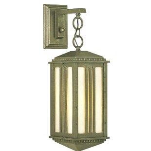Petrey 1-Light Outdoor Wall Lantern by Al..