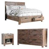 Perez Platform Configurable Bedroom Set by Union Rustic