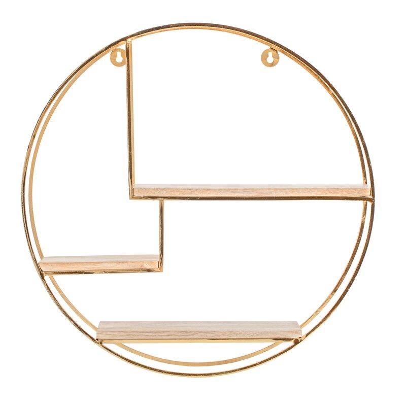 Aberdeen 3 Piece Circle Accent Shelf