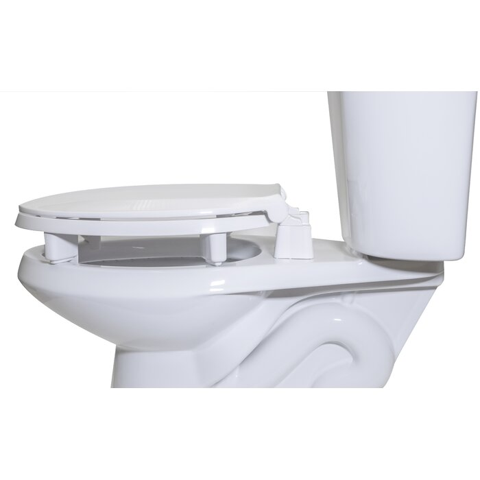 Remarkable Raised Plastic Elongated Toilet Seat Machost Co Dining Chair Design Ideas Machostcouk