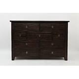 Cyrus Wooden 9 Drawer Dresser