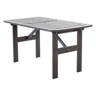 Youngs Wooden Dining Table By Sol 72 Outdoor