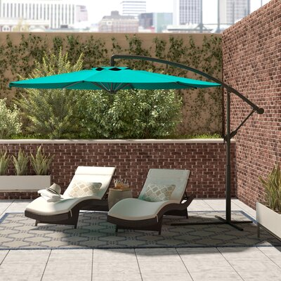 Freda Cantilever Umbrella by Brayden Studio Coupon