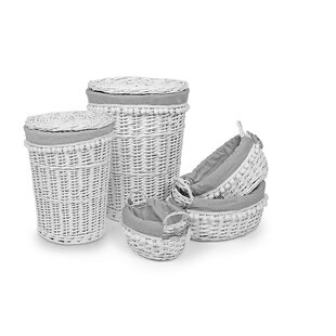Wicker Laundry Set By Brambly Cottage