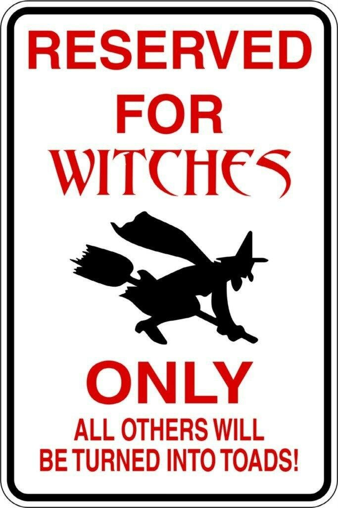 Design With Vinyl Reserved For Witches Wall Decal Wayfair