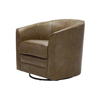Ivy Bronx Mauldin Swivel Barrel Chair