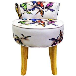 pretty nice b3330 b706c Low Back Dressing Table Chair   Wayfair.co.uk