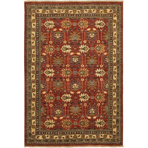 Molley Red/Yellow Area Rug
