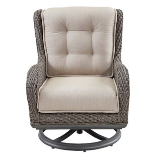Dogwood Swivel Lounge Chair with Cushions (Set of 2)