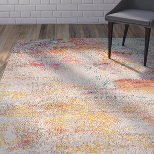 Affordable Shugart Sealife Beige Area Rug by Wrought Studio