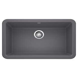 blanco silgranit sinks composite ikon 33 blanco silgranit kitchen sinks wayfair