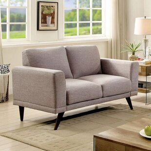 Buying Duong Mid-Century Modern Loveseat by Corrigan Studio Reviews (2019) & Buyer's Guide
